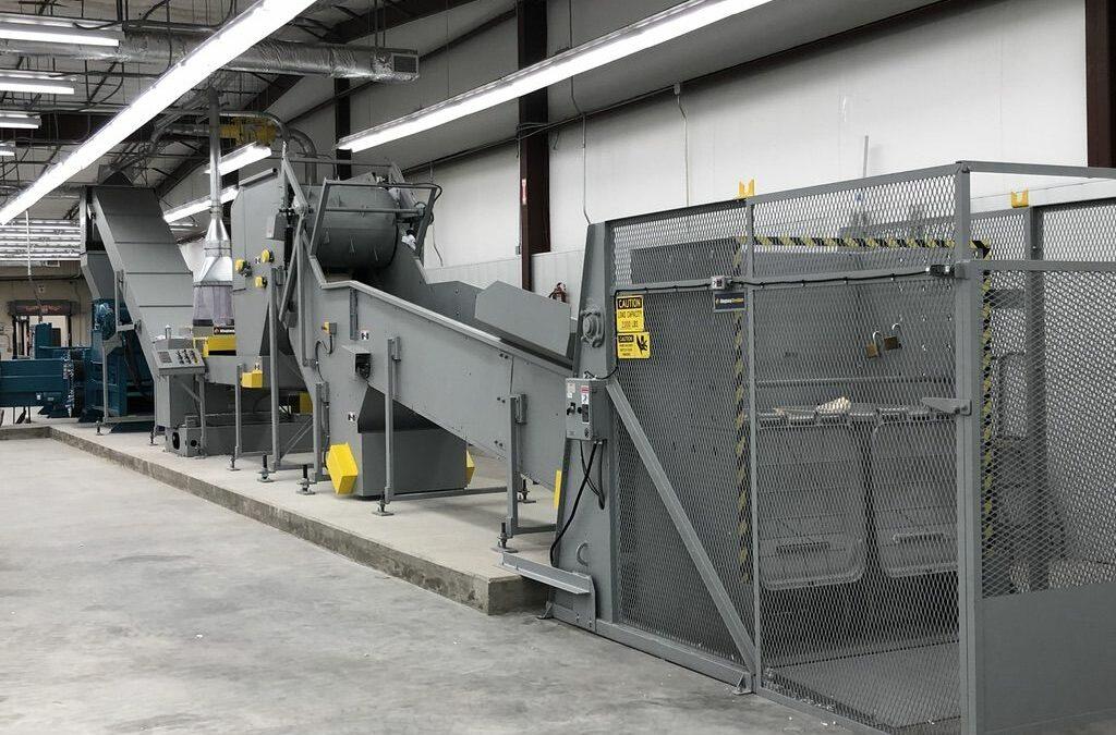 Industrial Hard Drive Shredder