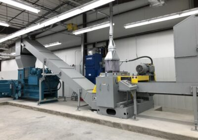 Industrial Shredder 30 500CX 100 Hp. Industrial Cross Cut Shredding System 4
