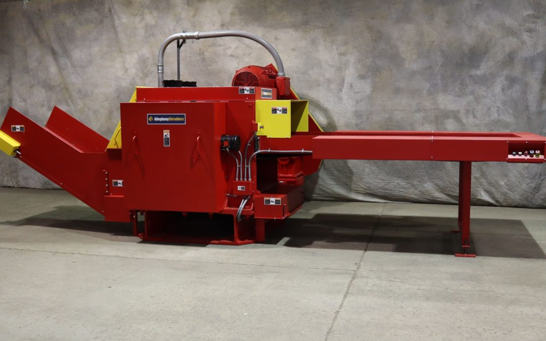 Industrial Shredder Allegheny 1000 Series Industrial Shredder 6.1