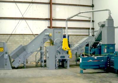 Pierce And Tear Industrial Shredder Allegheny Particle Cut Industrial Shredder 3