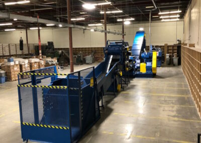 Industrial Shredder 36 1000HD 200 Hp. Shredding System 4