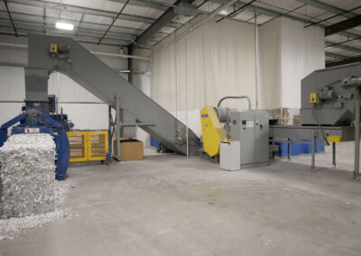 Industrial Shredder Allegheny 36 1000HD 150 Hp. Industrial Shredder System 2 Rapid Shred