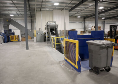 Industrial Shredder Allegheny 36 1000HD 150 Hp. Industrial Shredder System 4 Rapid Shred