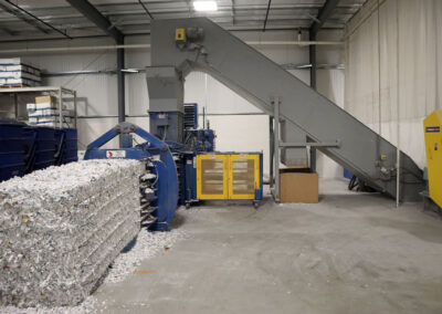Industrial Shredder Allegheny 36 1000HD 150 Hp. Industrial Shredder System 5 Rapid Shred