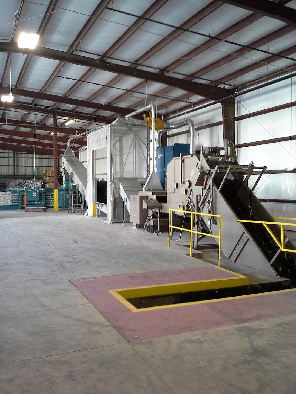 Industrial Shredder Allegheny Auto Feed System 1