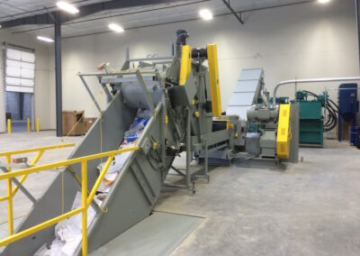 Industrial Shredder Allegheny Auto Feed System 2