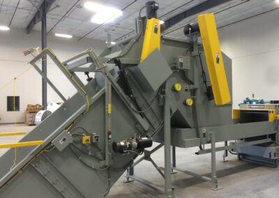 Industrial Shredder Allegheny Auto Feed System 3