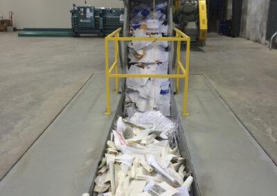 Industrial Shredder Allegheny Auto Feed System 4