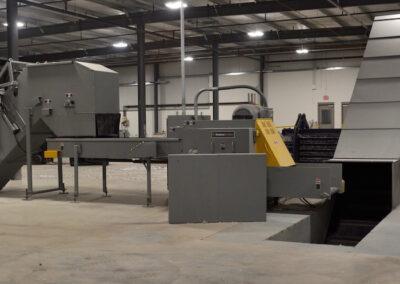 Industrial Shredder Allegheny Auto Feed System 5