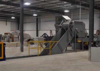 Industrial Shredder Allegheny Auto Feed System 6