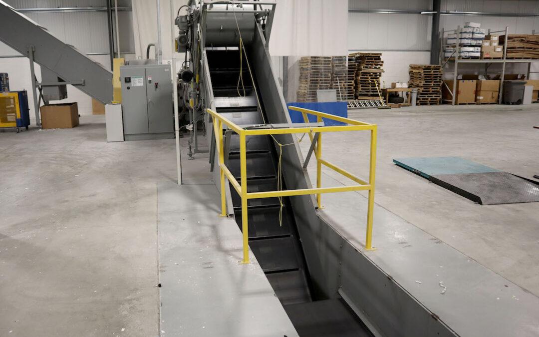 Industrial Shredder Allegheny Auto Feed System Rapid Shred 1