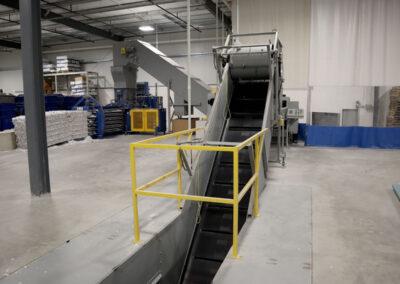 Industrial Shredder Allegheny Auto Feed System Rapid Shred 2