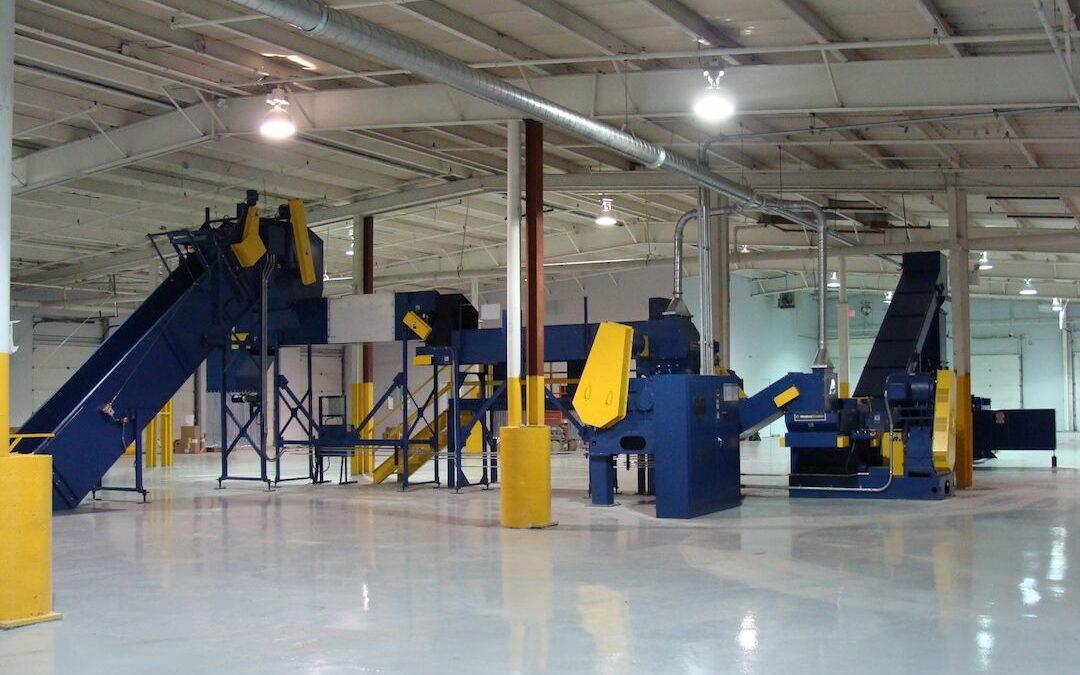 Industrial Shredder Allegheny Industrial Shredder System 1