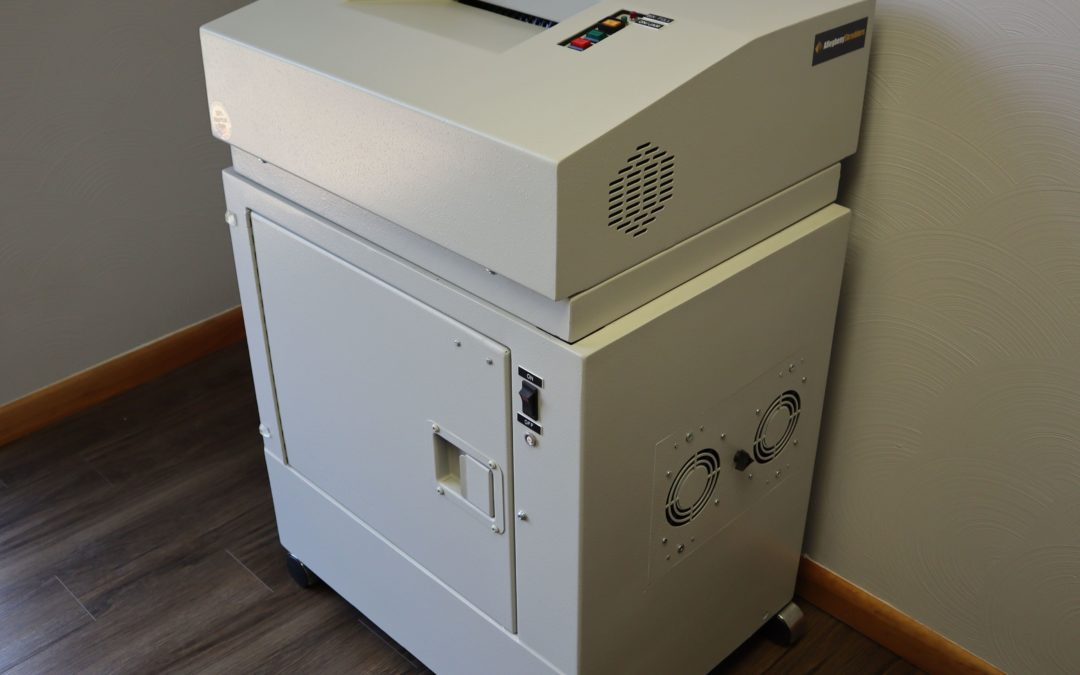 Industrial Shredder Cross Cut Allegheny JX 12 Cross Cut Shredder 1.2