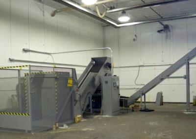 Single Shaft Industrial Shredder Allegheny Security Grinder 3